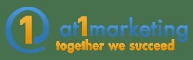 At 1 Marketing, LLC – Together we succeed Logo